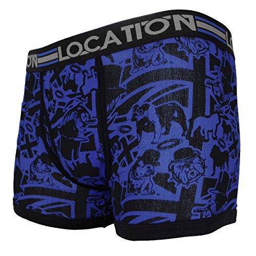 Location Herren Boxershort Mehrfarbig Multi Mehrfarbig - Proud2 Pack 4 (6 Pack)