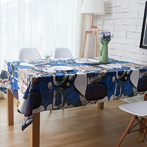 flagger-the-art-of-oil-painting-cloth-cotton-table-cloth-tablecloth-bluestone-folk-style-cafe-barqin