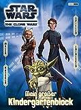 Star Wars The Clone Wars Kindergartenblock: Mein großer Kindergartenblock