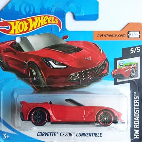 Hot~Wheels Corvette CZ Z06 Convertible - Cabrio / Roadster 1:64 - rot (Chevrolet Silverado Box)