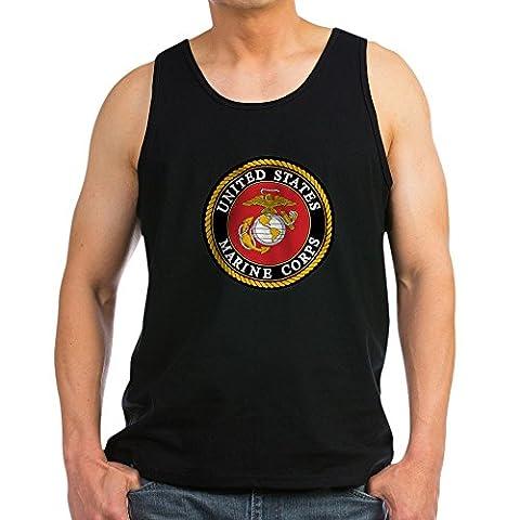 CafePress - USMC: Tank Top - Men's Cotton Tank Top,