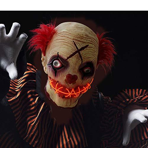 - Gruselige Clown Maske