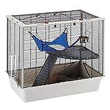 Ferplast Karat 100 Hamsters, Mice and Rodents Cage, 98.5 x 50.5 x 61.5 cm