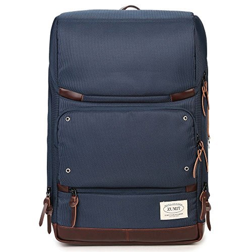 zumit Laptop Rucksack Messenger Business Bag Schulter Tasche bis 38,1cm Laptop mit YKK-Reißverschluss # 804 blau blau L - Ogio Messenger Tasche