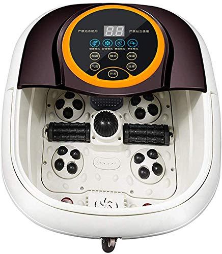 WYZXR Fußbad Massagegerät Entlasten Müdigkeit Shiatsu Massage Füße Badewanne Füße Maschine Fußbad Maschine Fußbad