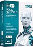 ESET NOD32 AntiVirus 2015 - 3 PCs (Minibox)