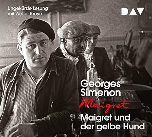 Maigret und der gelbe Hund: Ungekürzte Lesung mit Walter Kreye (4 CDs) -