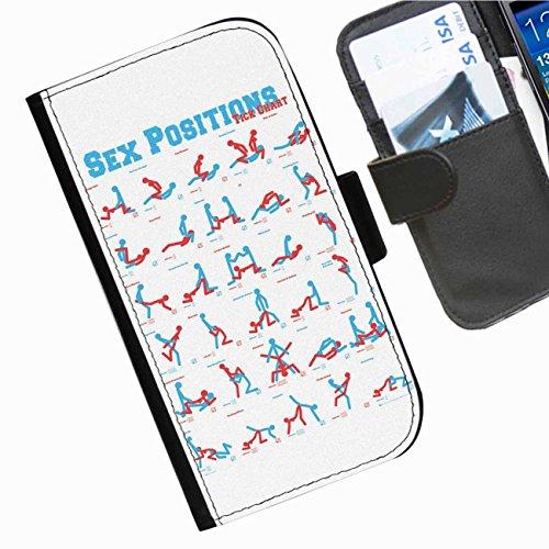 Hairyworm- Komisch BlackBerry Leap Leder Klapphülle Etui Handy Tasche, Deckel mit Kartenfächern, Geldscheinfach und Magnetverschluss.