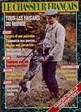 CHASSEUR FRANCAIS [No 1076] du 01/10/1986 - cancer , quelle prevention tous les...