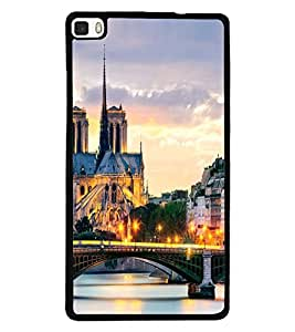 PRINTSWAG BRIDGE VIEW Designer Back Cover Case for HUAWEI P8