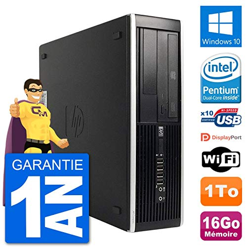 HP PC 8300 Elite SFF Intel G630 RAM 16 GB Festplatte 1 TB Windows 10 WiFi (überholt) (1 Tb Festplatte Intel)