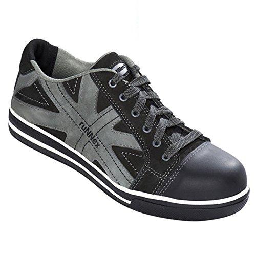 'ruNNex Chaussures de sécurité S3 5342 Star Bottines effet Chaussures de sport noir