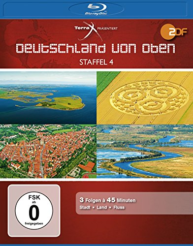 Bild von Deutschland von oben - Staffel 4 [Blu-ray]