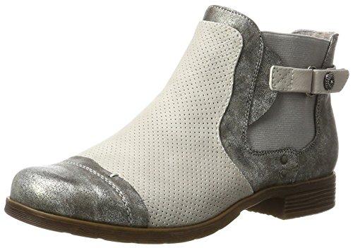Supremo Damen 2722301 Kurzschaft Stiefel, Grau (Grey-Ice), 39 EU