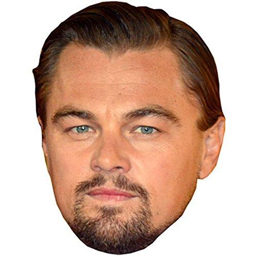 Celebrity Cutouts Leonardo Di Caprio Maske aus Karton
