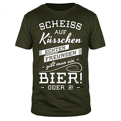 fabtee-scheiss-auf-ksschen-echten-freunden-gibt-man-ein-bier-herren-t-shirt-verschiedene-farben-gren
