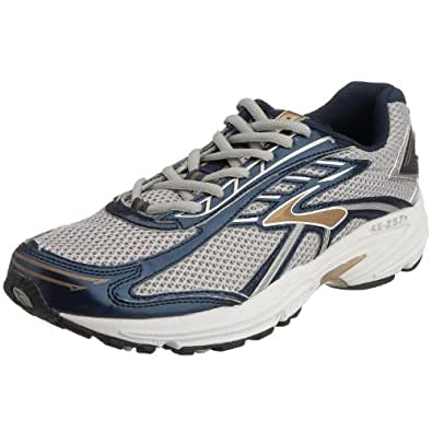 Brooks Men's Vapor 8 Running Shoe Silver/Ink/Whitegold 8