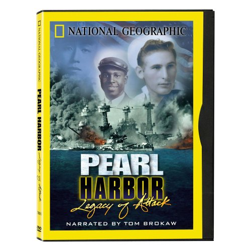 National Geographic Pearl Harbor Legacy of Attack DVD