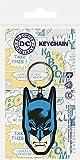 DC Comics Llavero caucho Batman 6 cm