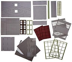 Joswood 17087 - Kit de construcción de 2 Casas, 150 x 310 x 273 mm, Corte láser