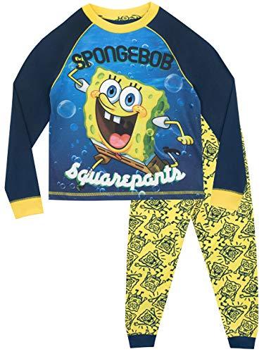 Spongebob Schwammkopf Jungen Spongebob Squarepants Schlafanzug Mehrfarbig 110