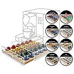 MACOM-Just-Kitchen-835-Space-Coffee-Dispenser-Portacapsule-Universale-per-Macchine-Caff-30-capsule-cassetto-in-legno