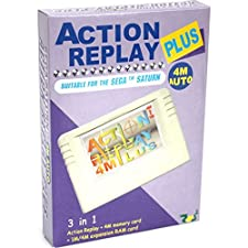 Action Replay 4M Plus - mejora definitiva para su consola de Saturno