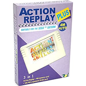 Action Replay 4M Plus – ultimative Erweiterung f?r Ihren Saturn-Konsole