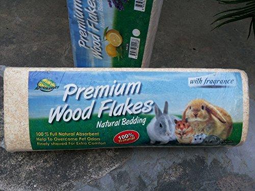 Birds' Park Dust-Free Bedding Wood Shaving for Hamster, Chinchillas, Guinea, Pig, Mice, Rabbit
