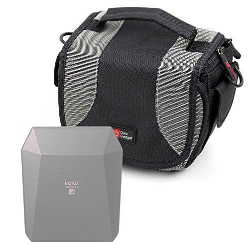 Galleria fotografica Borsa Per Stampante portatile Fujifilm Instax Share SP-3 SQ - Con Tracolla + Maniglia - Spazio Per Piccoli Accessori - DURAGADGET