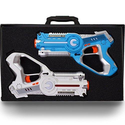 DYNASTY TOYS Laser Tag Set for Kids Multiplayer 2 Pack