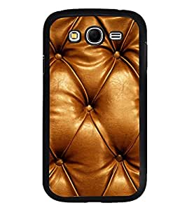 Fuson Premium 2D Back Case Cover Leather With Black Background Degined For Samsung Galaxy Grand Neo::Samsung Galaxy Grand Neo i9060