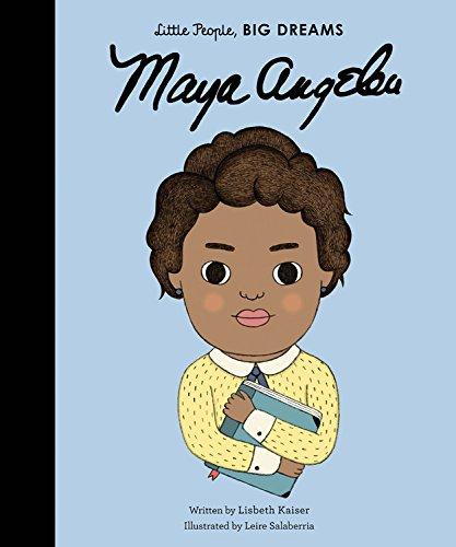 Maya Angelou (Little People, Big Dreams) por Lisbeth Kaiser