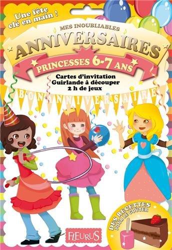 Anniversaire princesses 6-7 ans