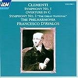 Clementi Vol. 2 / Sinfonien 1 und 3