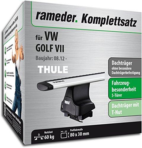 Rameder Komplettsatz, Dachträger WingBar für VW GOLF VII (114942-10585-1)