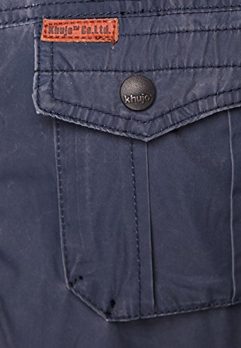 Khujo Jacke Men MARLON Navy - 4