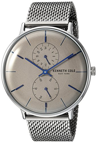 Kenneth Cole New York Men's Analog-Quartz Watch with Stainless-Steel Strap KC15188002