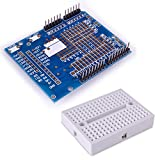 Kuman ProtoShield Arduino Prototype Expansion Board with Mini Expansion Bread Board For Arduino UNO Maga Nano DUE Robot K10