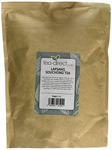 Tea-Direct Lapsang Souchong Loose Leaf Tea, 250 g