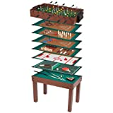 Ultrasport Kinder Spieltisch 12-in-1 Game Zone
