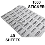 #3: The Marketvilla 40-up 40 Sheets ( 1600 stickers ) FBA Products Labels A4 Size 4by10 Label For Fulfillment Services Seller