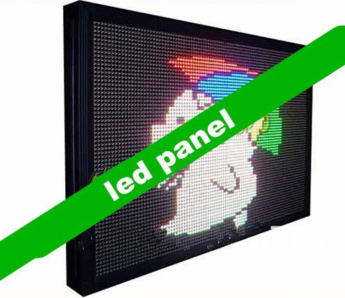 Gowe Full Color Outdoor RGB LED Panel, Video Display und Größe 71,9x 103,9cm Led-video-panel
