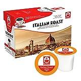 48 Keurig Compatible Pods Italian Roast by Caffè Tiziano Bonini