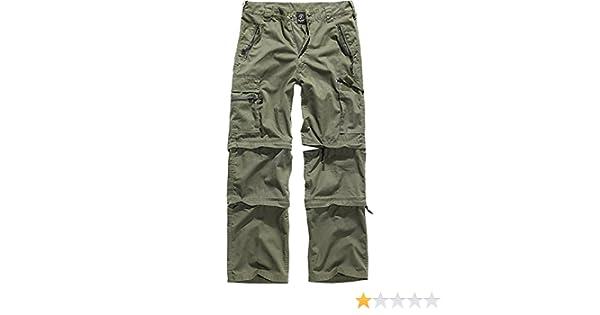 brandit savannah pantaloni verde oliva  Brandit Savannah Pantaloni Oliva: : Abbigliamento