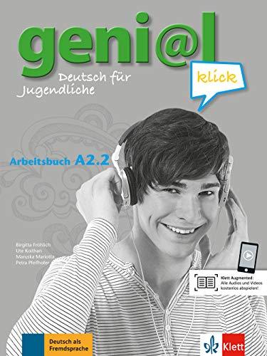 geni@l klick a2.2, libro de ejercicios con audio online por Vv.Aa.