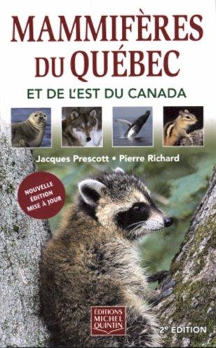MAMMIFERES..QUEBEC..EST CANADA -NE