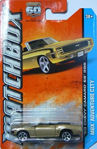 2013 Matchbox MBX Adventure City - '69 Chevy Camaro SS 396 Convertible