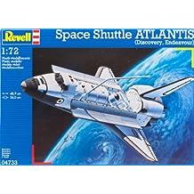 Revell 04 733 - Transbordador espacial Atlantis de 111 piezas [Importado de Alemania]