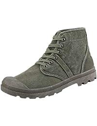 cfe735684e0e3 Zapatos Hombre Black Friday Casuales Invierno Botas Altas del Tobillo del  Top de la Moda de los Hombres Zapatos de…